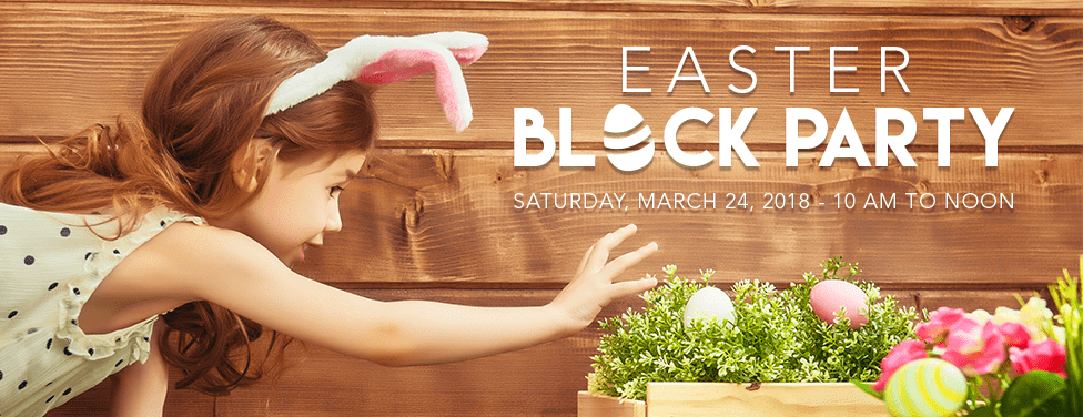 Join us for a FREE Easter Block Party at LJCC!