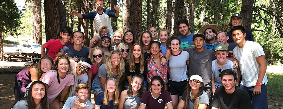 Friends gather on high school ministry trip
