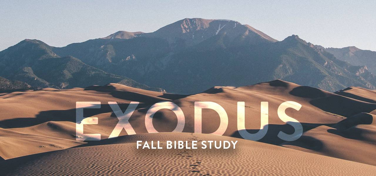 Study Exodus with others at La Jolla Community Church