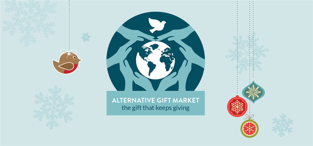 Shop for alternative gifts that bless people locally and globally.