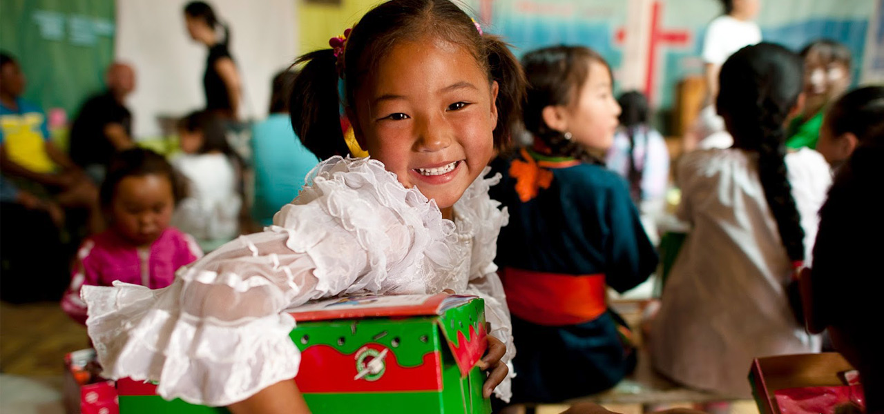 Fill a Shoebox with Hope for a Child