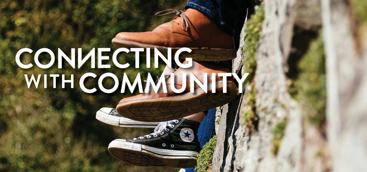 God Calls Us to Connect in Community